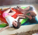 Liza K - Gas accident 3 chicks totally limp (14)