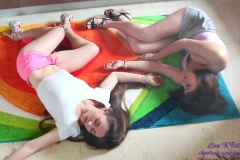 Liza K - Gas accident 3 chicks totally limp (13)