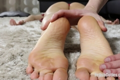 FETISH CUTIES - Silly Blond Bimbo Knocked Out And Fondled (28)