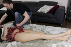 FETISH CUTIES - Silly Blond Bimbo Knocked Out And Fondled (32)