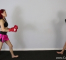 CALI Boxing it Out with Bella Ink and Lea Hart (3)