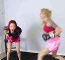 CALI Boxing it Out with Bella Ink and Lea Hart (31)