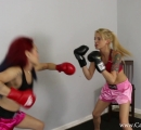 CALI Boxing it Out with Bella Ink and Lea Hart (4)