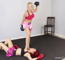 CALI Boxing it Out with Bella Ink and Lea Hart (40)
