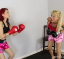 CALI Boxing it Out with Bella Ink and Lea Hart (5)