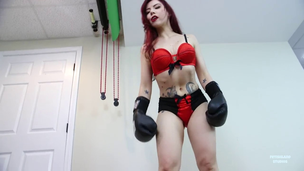 [C4S] - Fetishlands Fight Night - Boxing Match with Ludella (27)