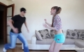 FETISH CUTIES Foot Lover Enjoys 4 Limp Feet And Double Knock Outs (2)