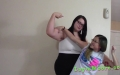Layla Moore - King of The Muscles - little mina (7)