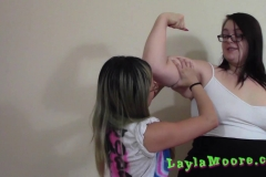 Layla Moore - King of The Muscles - little mina (12)