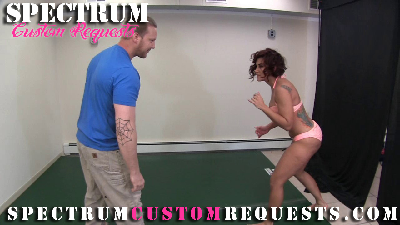 Has beautiful mixed wrestling domination porn want her ass