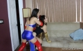Cali Logan Mythril Destroys Kitana with Kaya Lin (22)