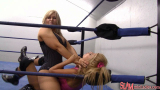 Review of SLAMpeg 755: Brandi Wine vs. Kristin Astara