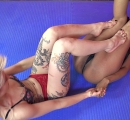 DEFEATED Stella vs Janelle Forced to kiss stinky feet (33)