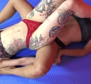 DEFEATED Stella vs Janelle Forced to kiss stinky feet (34)