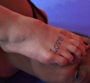 DEFEATED Stella vs Janelle Forced to kiss stinky feet (35)