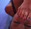 DEFEATED Stella vs Janelle Forced to kiss stinky feet (40)