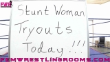 Review of Stunt Woman Tryouts
