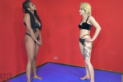 DEFATED Total Beatdown – Stella gets destroyed and forced to lick feet - Stella Vs Janelle (1)