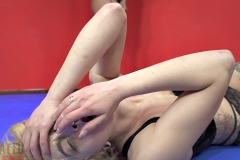 DEFATED Total Beatdown – Stella gets destroyed and forced to lick feet - Stella Vs Janelle (13)