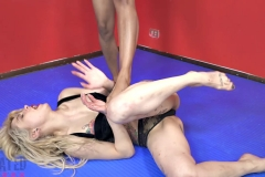DEFATED Total Beatdown – Stella gets destroyed and forced to lick feet - Stella Vs Janelle (19)