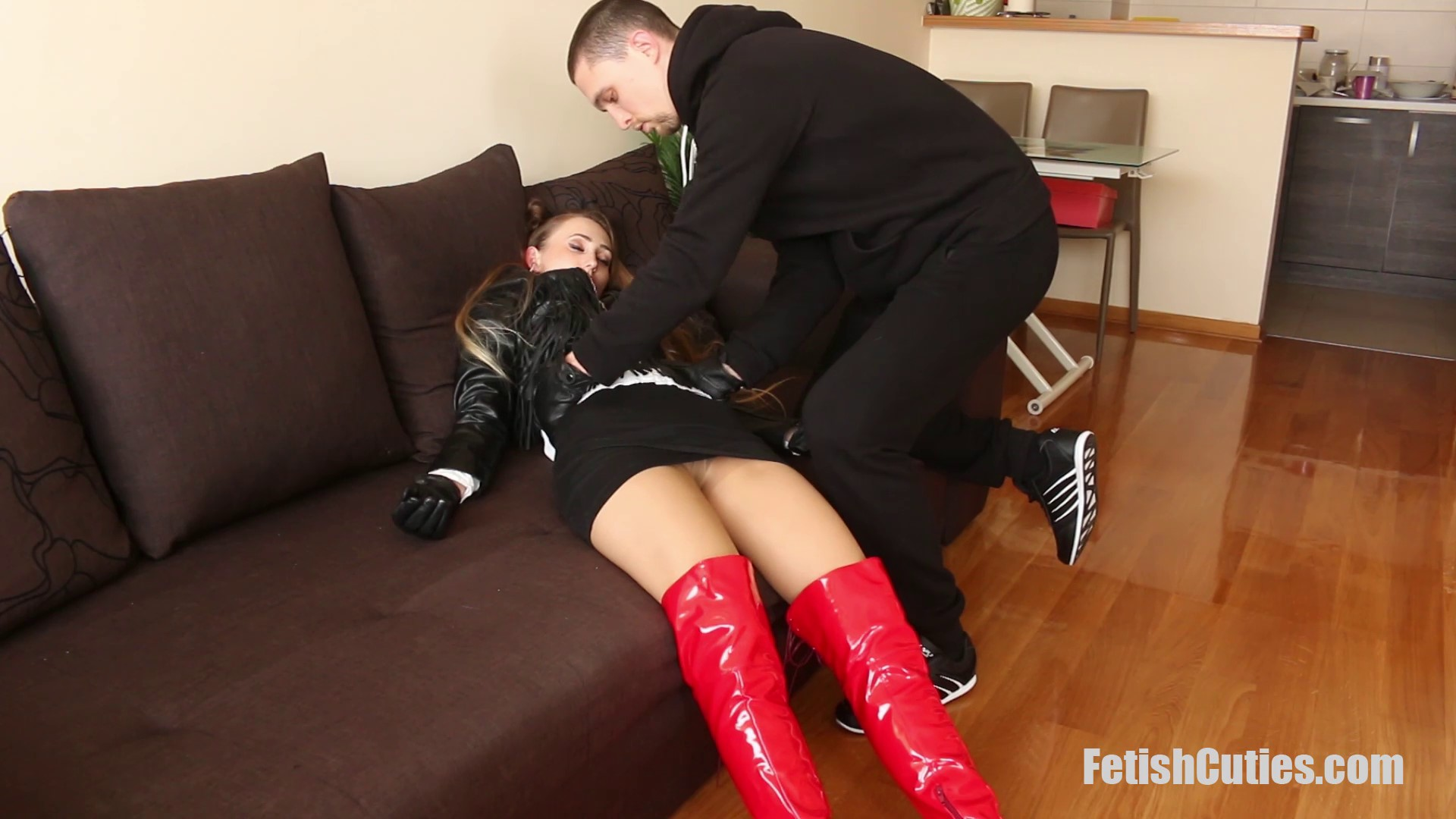 FETISH CUTIES Unsuspectedly Caught, Neck Chopped And Used For Pleasure (17)